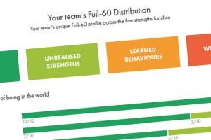 team strengths distribution